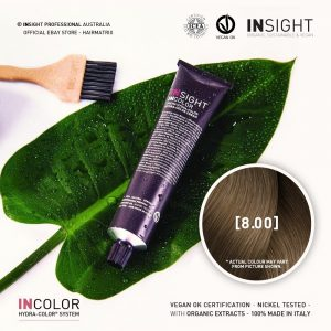 Insight INCOLOR Hydra-Color Cream [8.00] Natural Deep Light Blonde 100ml