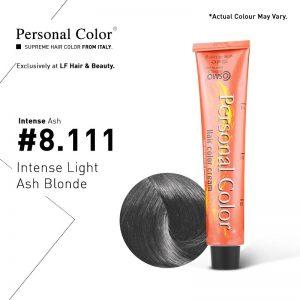 Cosmo Service Personal Color Permanent Cream Intense Ash 8.111 - Intense Light Ash Blonde 100ml