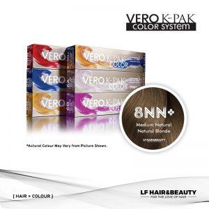 Joico Vero K-PAK Age Defy 8NN+ Permanent Color - Medium Natural Natural Blonde 74ml