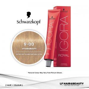 Schwarzkopf Igora Royal 9-00 Extra Light Blonde Natural Extra 60ml