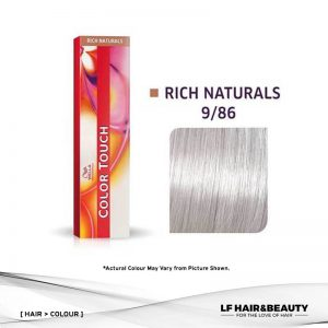 Wella Color Touch Semi-Permanent Cream 9/86 - Very Light Blonde Pearl Violet 60g