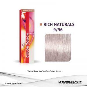 Wella Color Touch Semi-Permanent Cream 9/96 Very Light Blonde Cendre Violet 60g