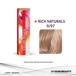 Wella Color Touch Semi-Permanent Cream 9/97 - Very Light Blonde Cendré Brown 60g