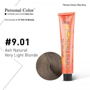 Cosmo Service Personal Color Permanent Cream 9.01 - Ash Natural Very Light Blonde 100ml