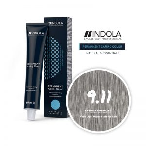 Indola Permanent Caring Color 9.11 Very Light Blonde Intense Ash 60ml