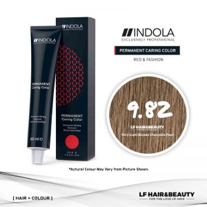 Indola Permanent Caring Color 9.82 Very Light Blonde Chocolate Pearl 60ml