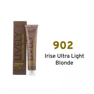 Nouvelle Lively Ammonia Free Hair Color- Irise Ultra Light Blonde 902