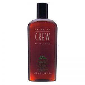 American Crew 3-IN-1 Tea Tree 450ml