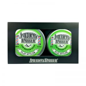 American Barber Clay Styler 50ml-100ml Duo Pack