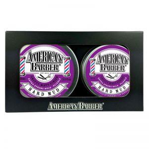 American Barber Hard Mud 50ml-100ml Duo Pack