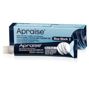 Apraise Professional Eyelash &Eyebrow Tint 20ml - 2 Blue Black