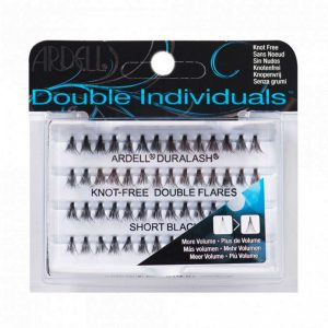 Ardell Double Individual Duralash Knot-Free Double Flare Lashes - Short Black