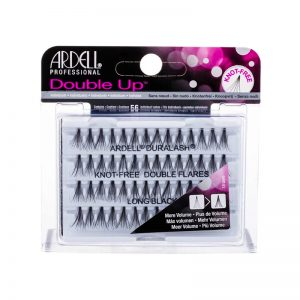 Ardell Double Up - Duralash Knot Free Double Flares Long Black