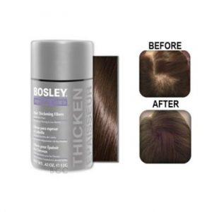Bosley Hair Thickening Fibers - medium brown