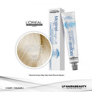 Loreal Majirel High Lift Permanent Hair Color HL Beige 50ml