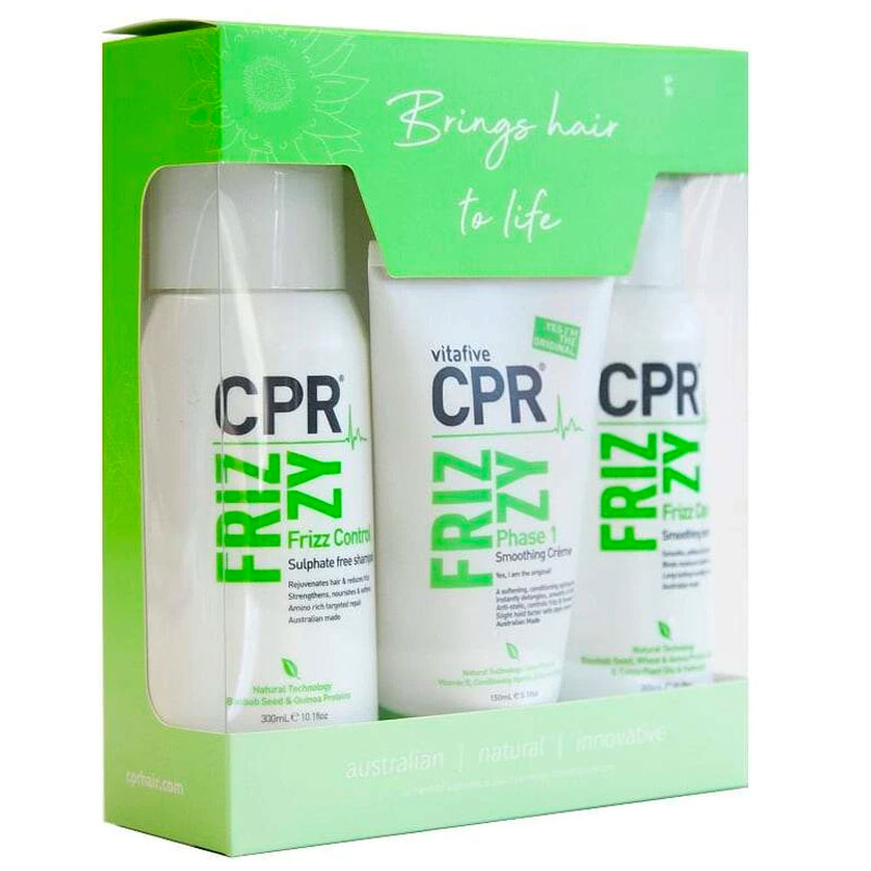 Vitafive Smooth and Control CPR Frizz Trio Pack - LF Hair