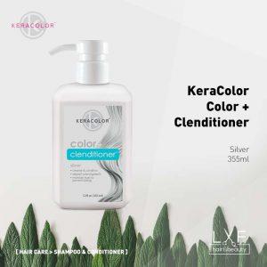 KeraColor Color + Clenditioner Silver 355ml