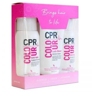 Vitafive CPR Secure and Protect Colour Gift Pack Shampoo Conditioner Treatment
