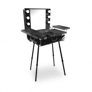 Makeup Case Trolley Black CH-F9612B