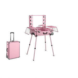 Makeup Case Trolley Pink CH-F9612P