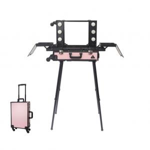 Makeup Case Trolley Pink CH-FB9664B-W