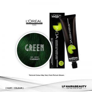 Loreal iNOA Permanent Hair Color Mix - Green 60g
