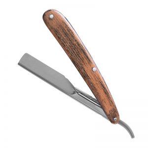 ICEMAN Razor Wood Handle Hair Shaper