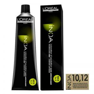Loreal iNOA Permanent Hair Color 10,12 Lightest Ash Iridescent Blonde 60g