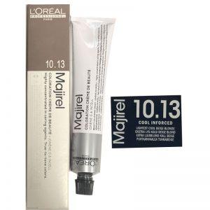 L'Oreal Majirel Permanent Hair Color 10.13 Cool Inforced Lightest cool Beige Blonde 50ml