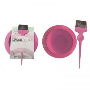 LUXOR Tint Set – Tint Bowl and Tint Brush - Pink