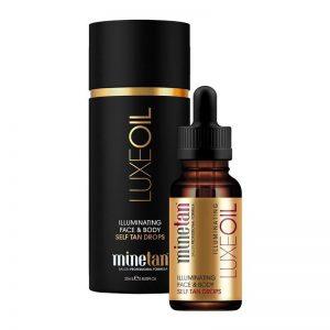 MineTan Luxe Oil Illuminating Face & Body Self Tan Drops 25ml