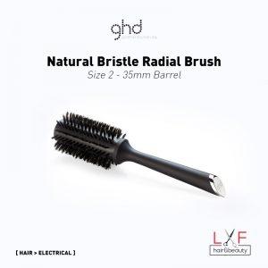 GHD Natural Bristle Radial Brush Size 2 (35mm Barrel)