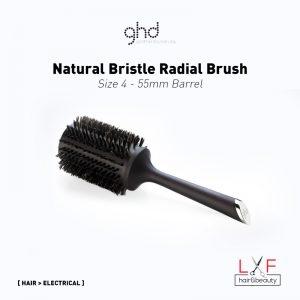GHD Natural Bristle Radial Brush Size 4 (55mm Barrel)