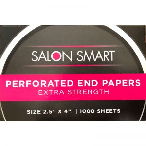 Salon Smart Perforated Ends Papers 1000 sheets