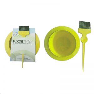 LUXOR Tint Set – Tint Bowl and Tint Brush - Yellow