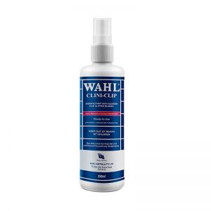 Wahl Clini Clip Disinfectant and Cleaner For Clipper Blades 250ml