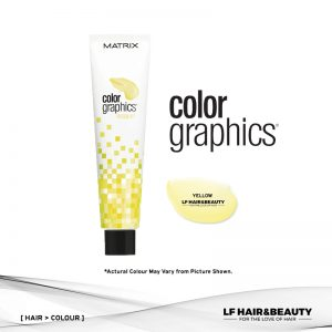 Matrix Color Graphics Lacquer Yellow Semi Permanent Hair Color 85ml