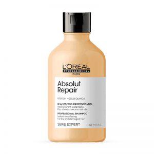 L'Oreal Expert Serie Absolut Repair Gold Quinoa + Protein Instant Resurfacing Shampoo 300ml