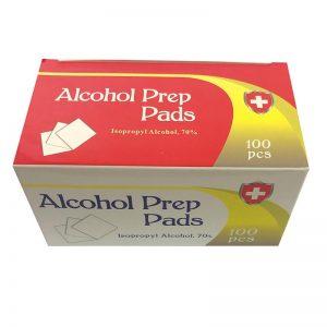 Isopropyl Alcohol Prep Pads 100pcs