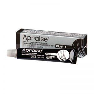 Apraise Professional Eyelash & Eyebrow Tint 20ml - Black 1