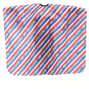 Barber Shop Printed Hairdressing Cape - Waterproof Apron