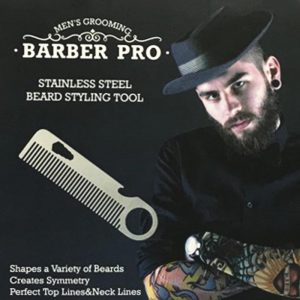 Barber Pro Stainless Steel Beard Styling Tools