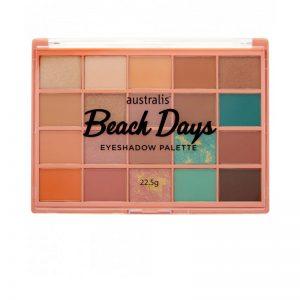 Australis Beach Days Eyeshadow Palette 20g