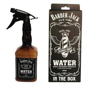 Barber Jack Spray Bottle Barber Shop Design - 600 ML Brown