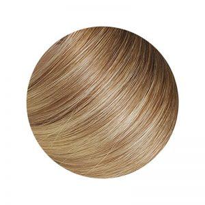 Seamless1 Hair Extensions Human Hair Ponytail 21.5 inch Coffee N Cream