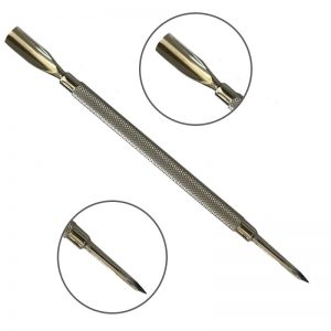 Cuticle Pusher and Nail Cleaner - Delicate Skin Care Beauty Tool