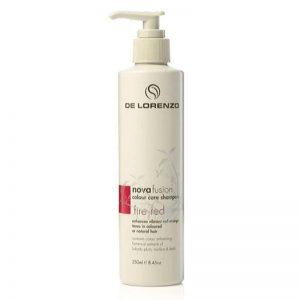 De Lorenzo Nova Fusion Colour Care Shampoo 250ml - Fire Red