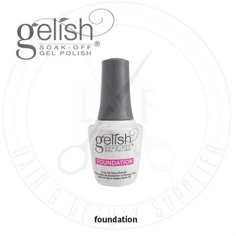 Gelish Foundation Soak Off Base Nail Gel 15ml - DBC Hair