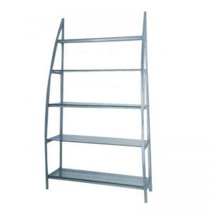 5 tier stainless steel Salon Shelves - CH-5023A