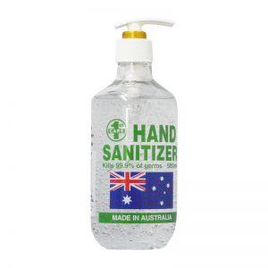 Waterless Hand Sanitiser Made in Australia - Kills 99.9% of germs 500ml